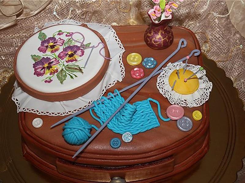 Торт бабушке на день рождения своими руками картинки 173