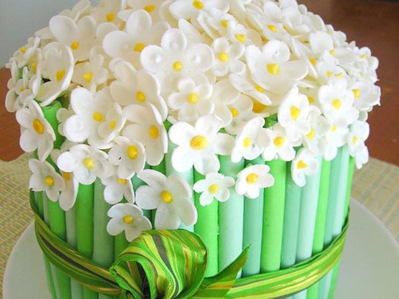 Торт из мастики 19 фотография
