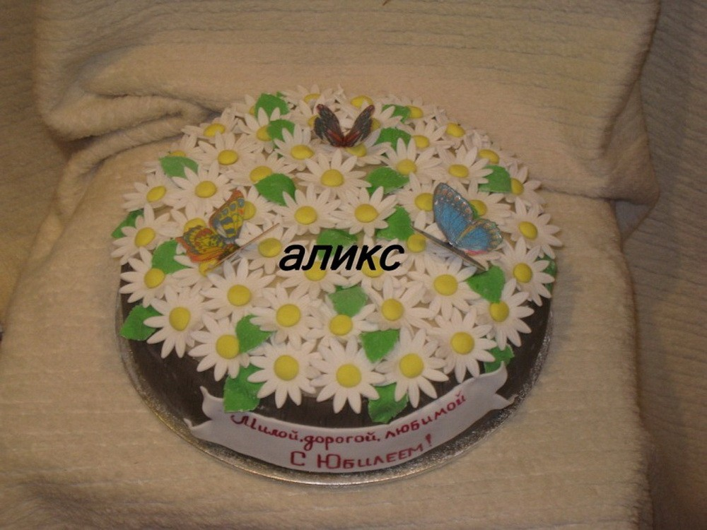 торт на юбилей свадьбы рецепты с фото